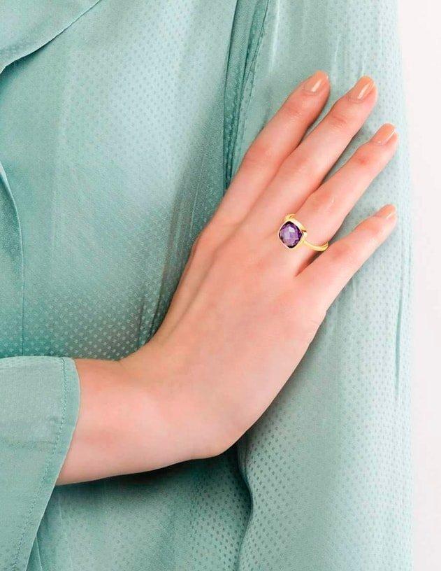 Amethyst Rings