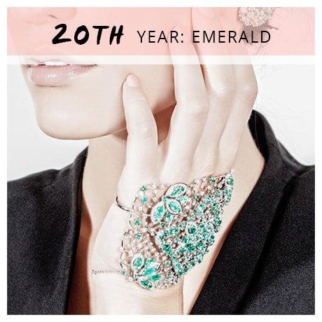 20th Year: Emerald