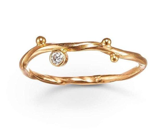 Diamond Seafire Ring