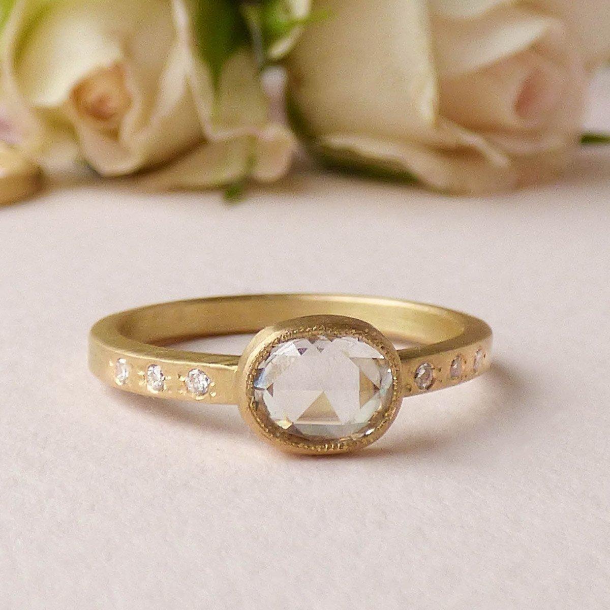 18kt Fairtrade Gold Iris Diamond Ring
