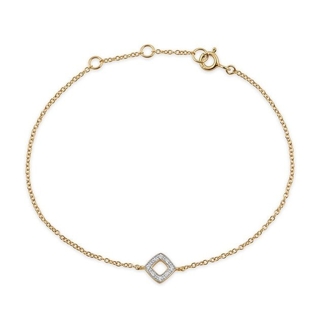 Diamond Rhombus Bracelet, Gemondo Jewellery