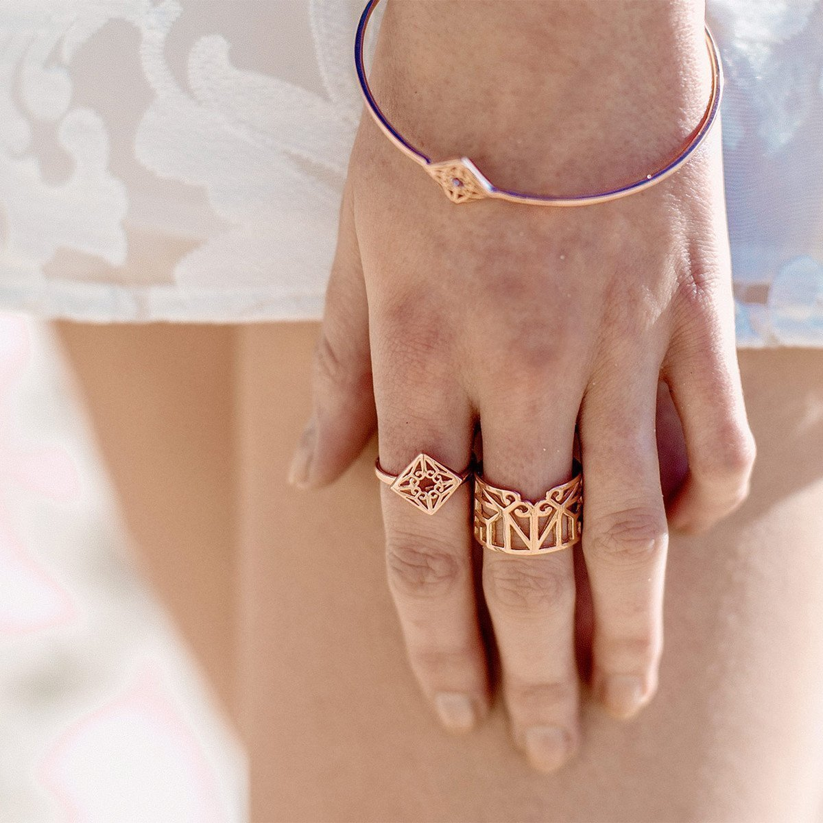 Bokeo Ring Rose Gold - Zefyr