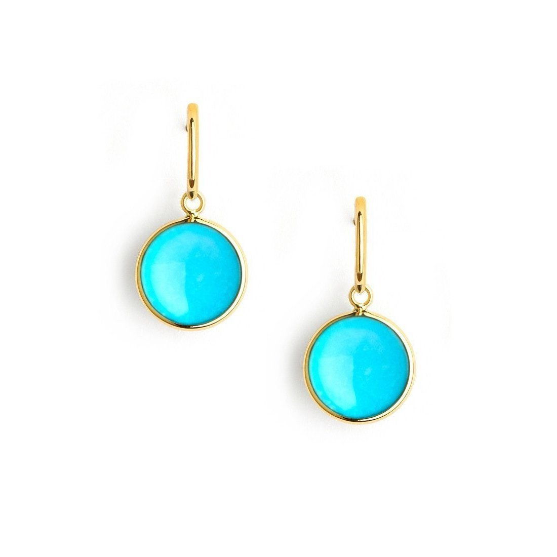 18kt Turquoise Chakra Earrings