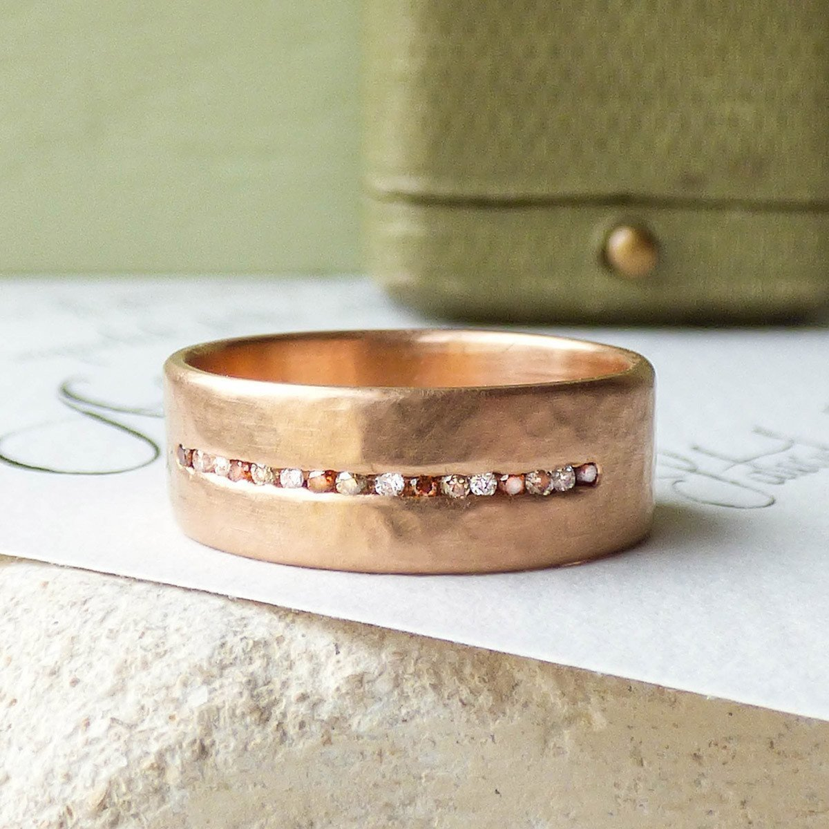 18kt Fairtrade Celine Diamond Ring