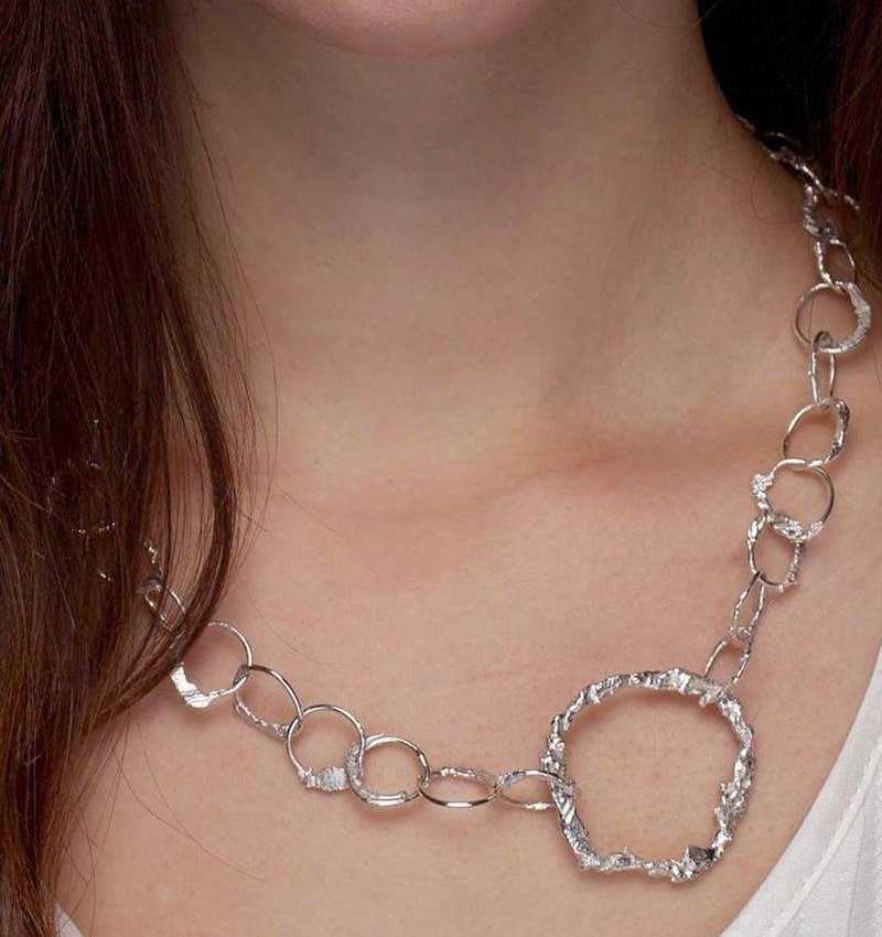 Eroded Short Chain,  Kirsten Hendrich Jewellery