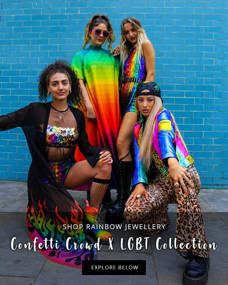 Shop the Confetti Crowd X LGBT Collection