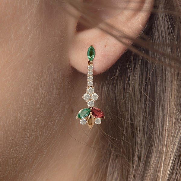 Red & Green Jewellery