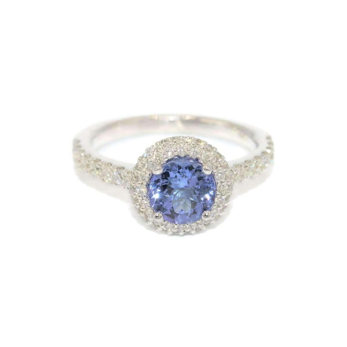 Classic Tanzanite Fairytale Diamond Ring - Custom Made By Irina