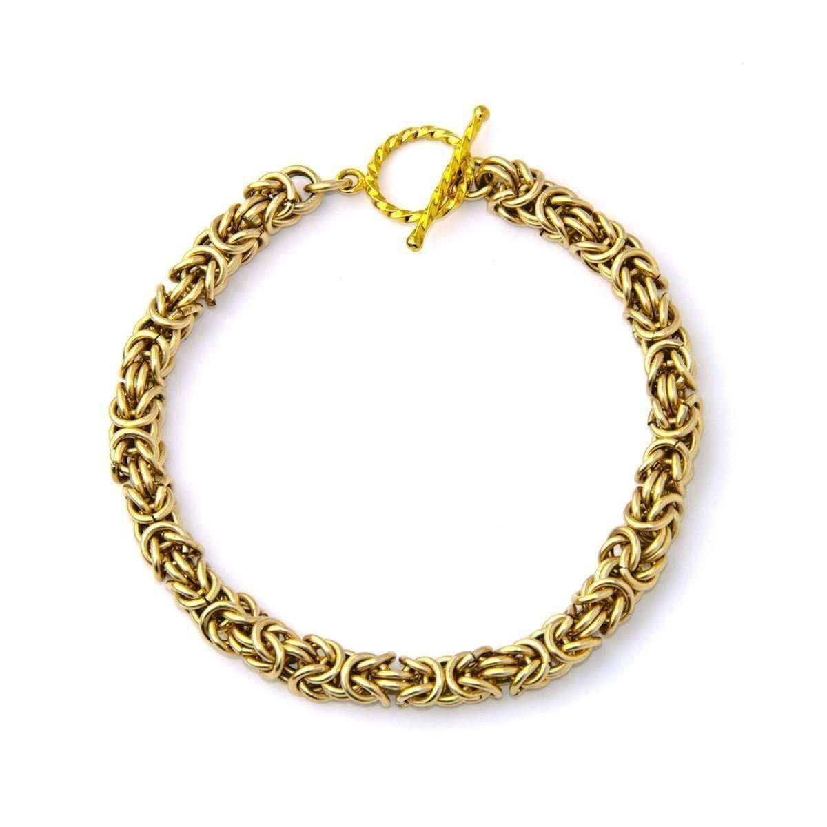 Baby Byzantine Bracelet - Elementas Jewelry