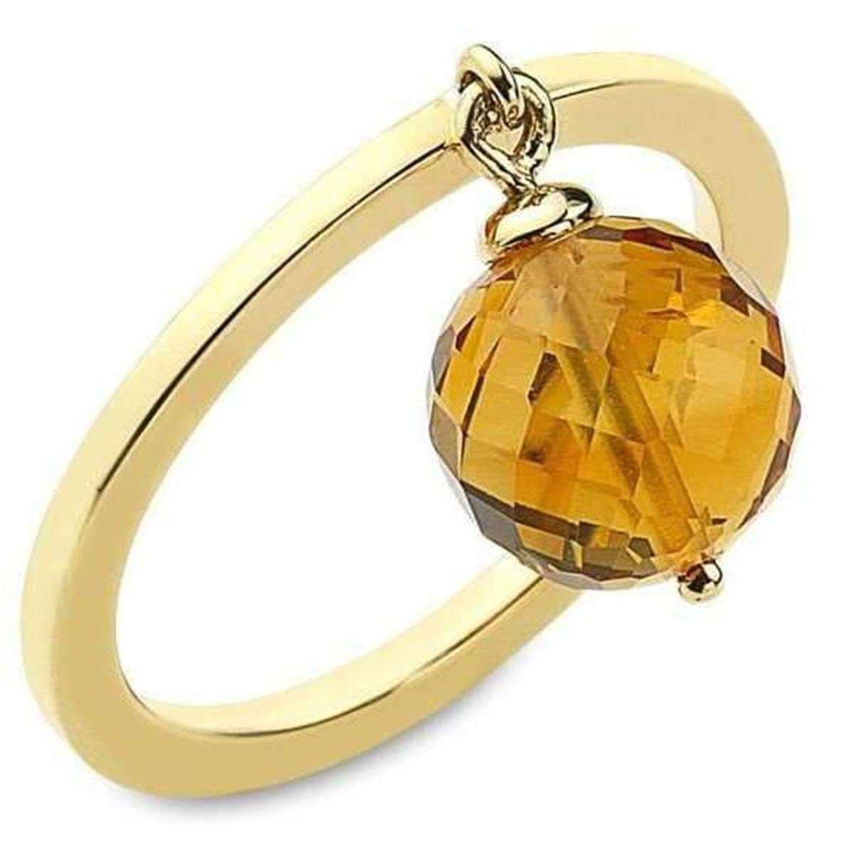 November birthstone - topaz ring