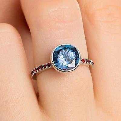 Blue Bridal Jewellery