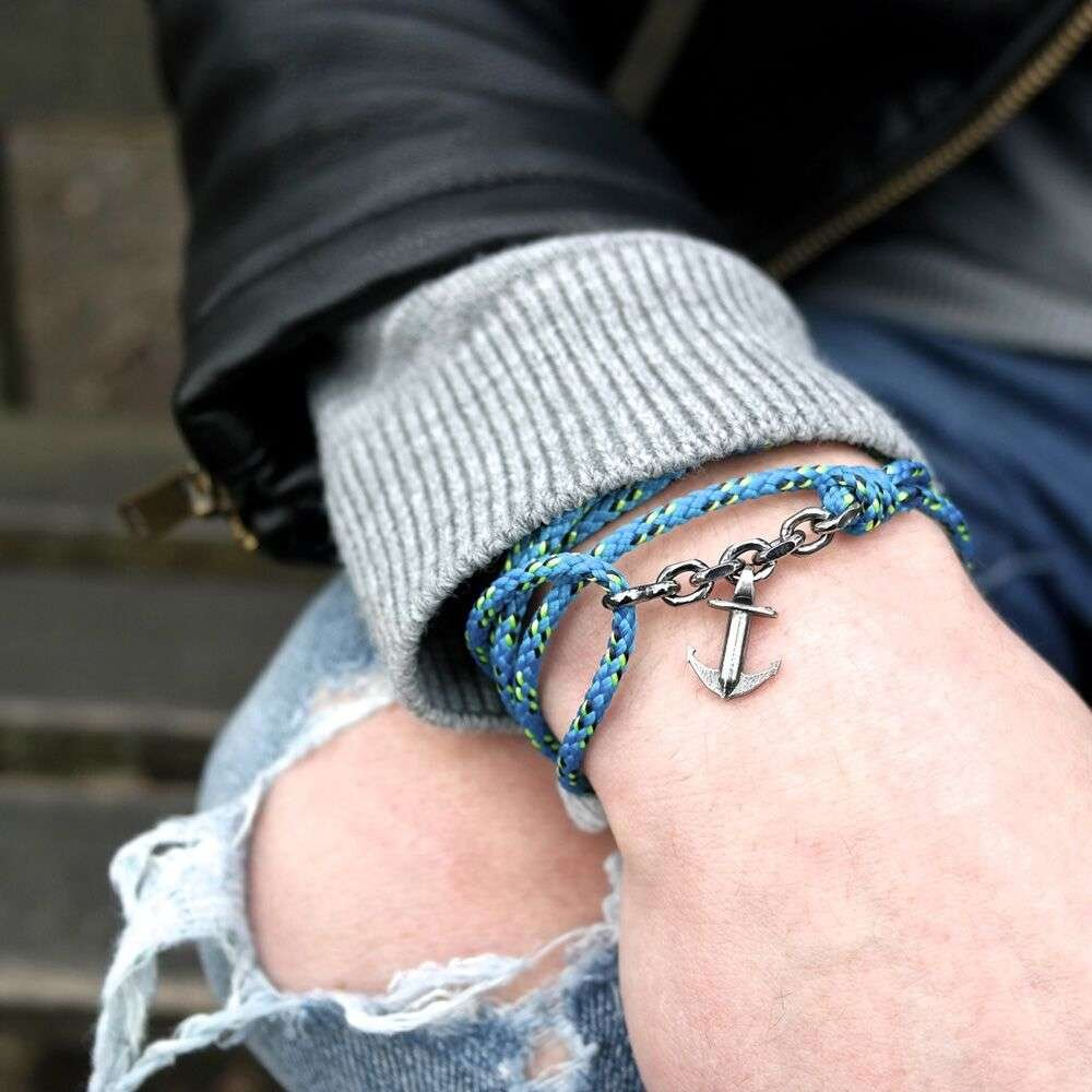 mens braided bracelet