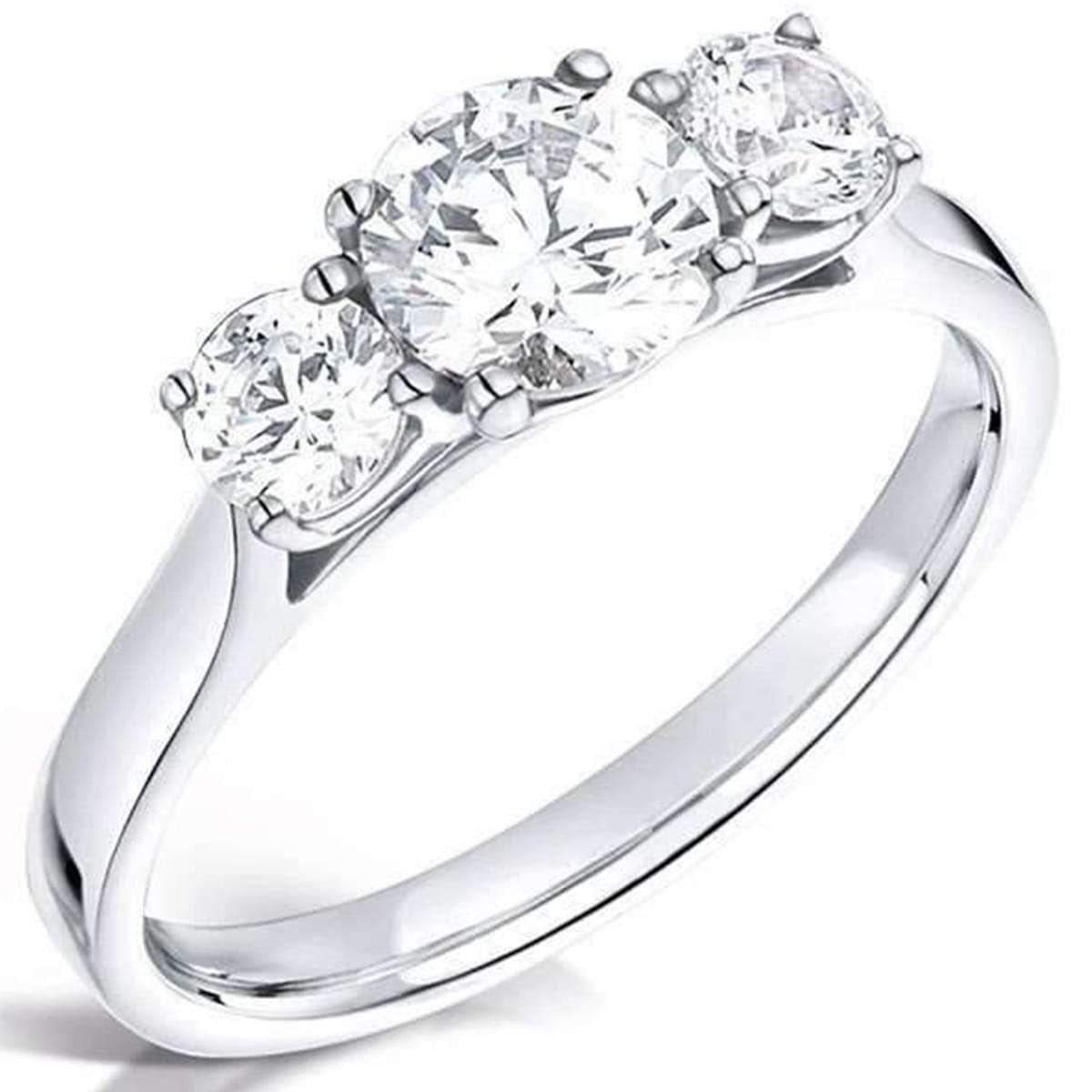 April birthstone - diamond ring