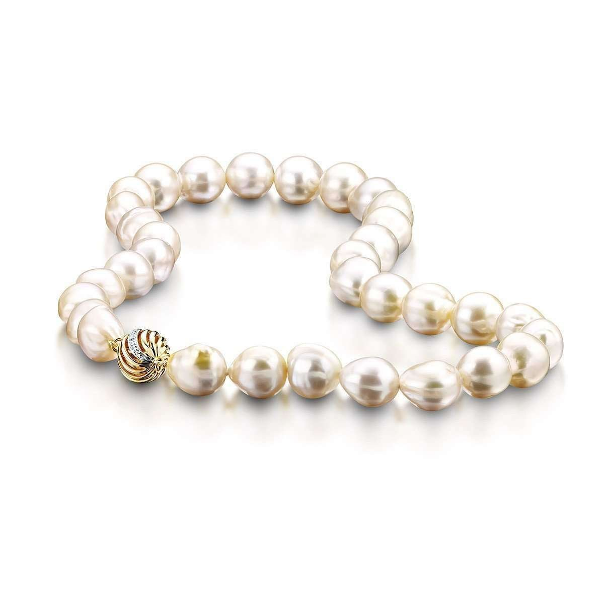 South sea Baroque Pearl String Necklace - Clearwater Diamonds,