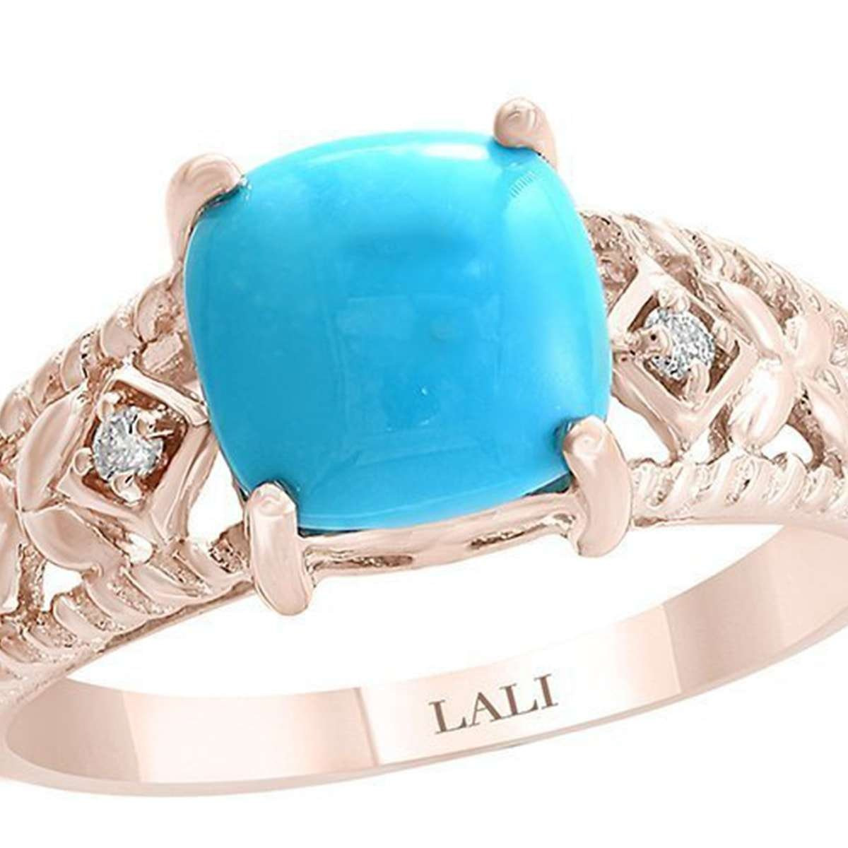 December birthstone - turquoise ring
