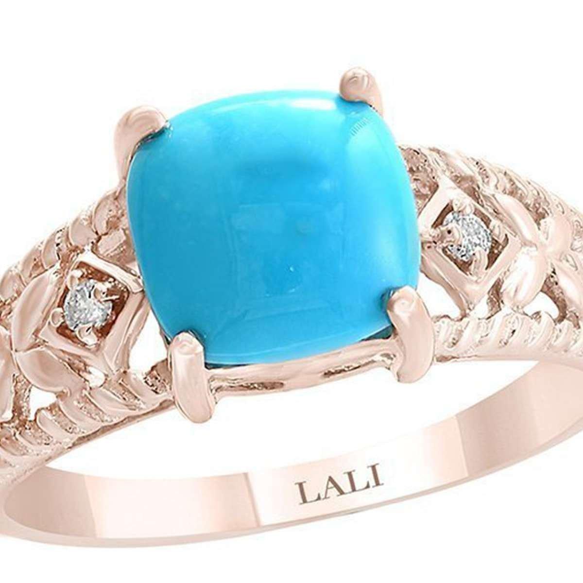 December birthstone - Turquoise ring
