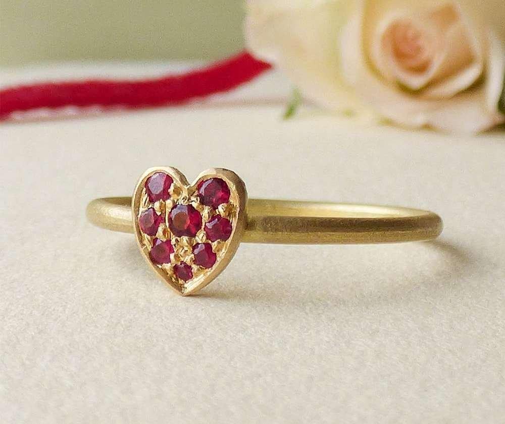 18kt Fairtrade Cherish Ruby Ring - Shakti Ellenwood