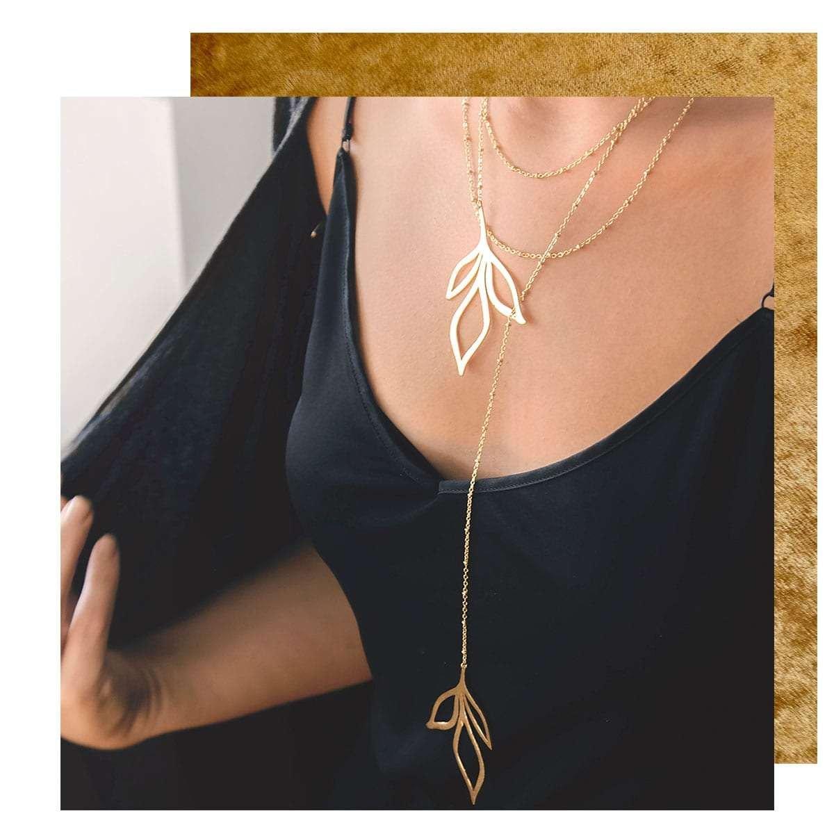 Broken Branch Necklace - Atelier Petites Pierres