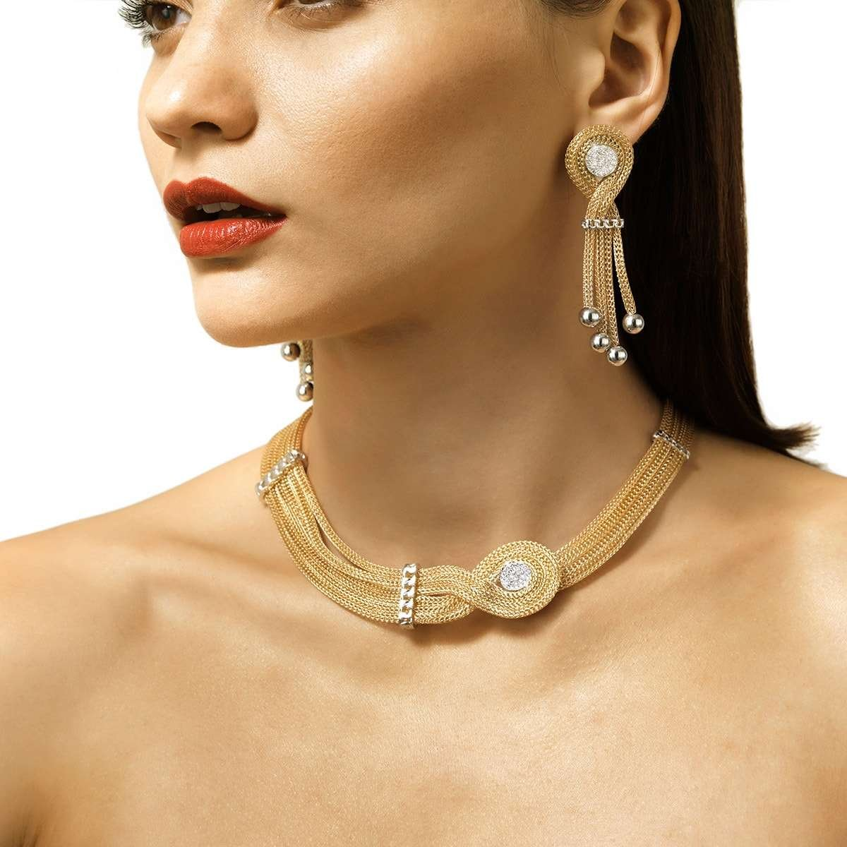 Sweet Ripples Necklace -  Franco Piane Designed By Franco Pianegonda