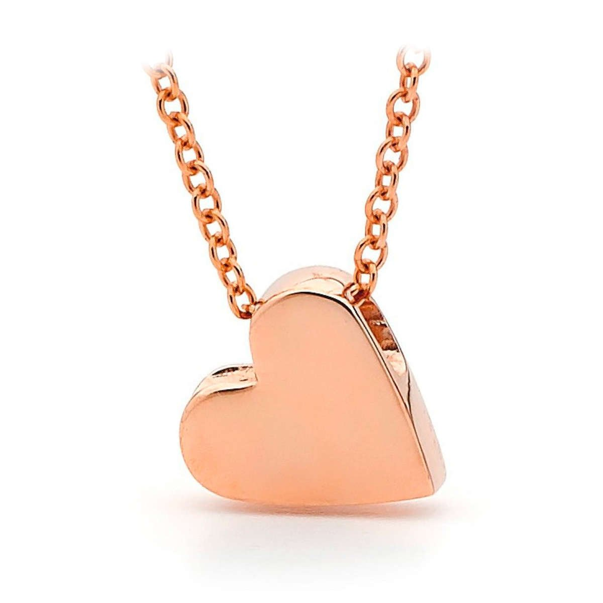 Rose Gold Baby Heart Necklace