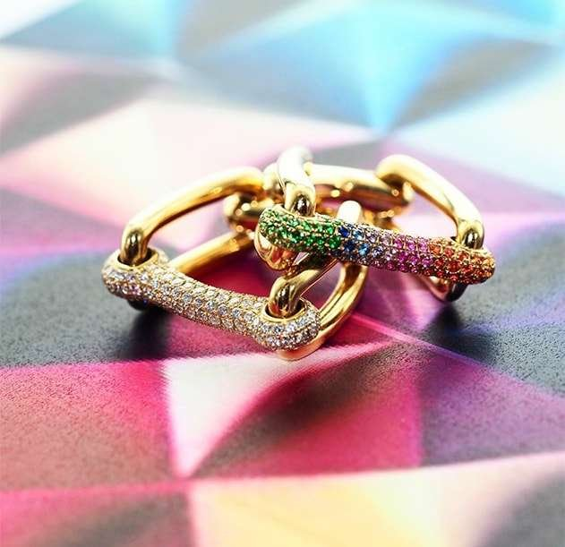 Rainbow Identity Ring, Robinson Pelham