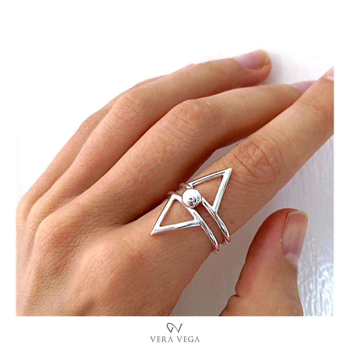 Rocket Willow ring  - VERA VEGA
