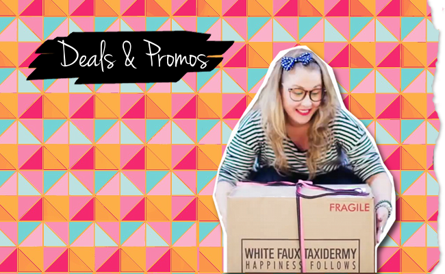 White Faux Taxidermy Specials, Open Box, & Deals