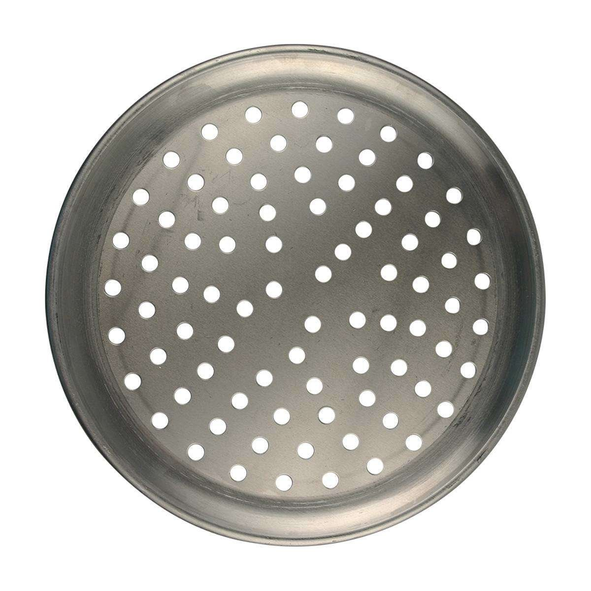 coup style perforated pizza pan
