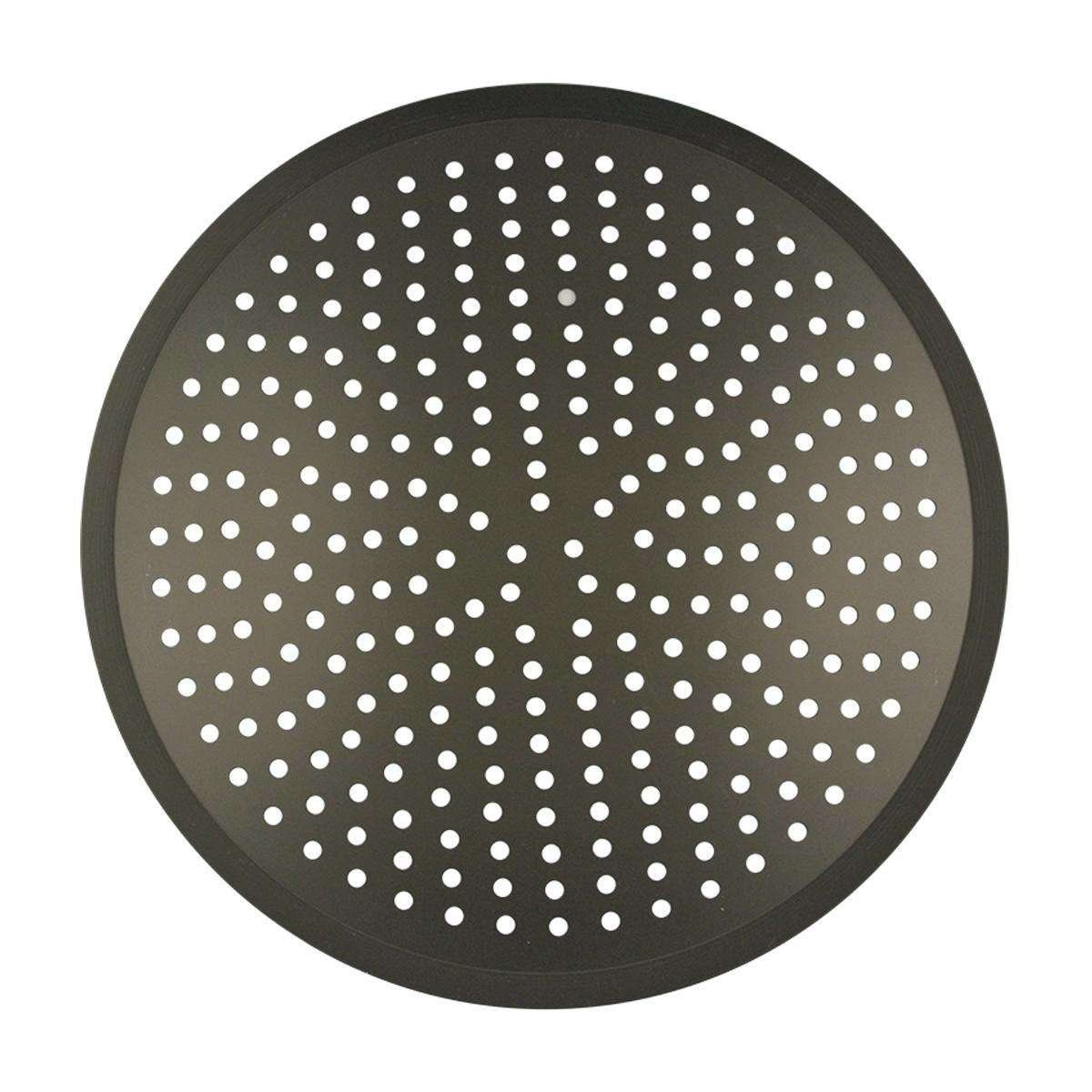 heavy duty perforated pizza pan