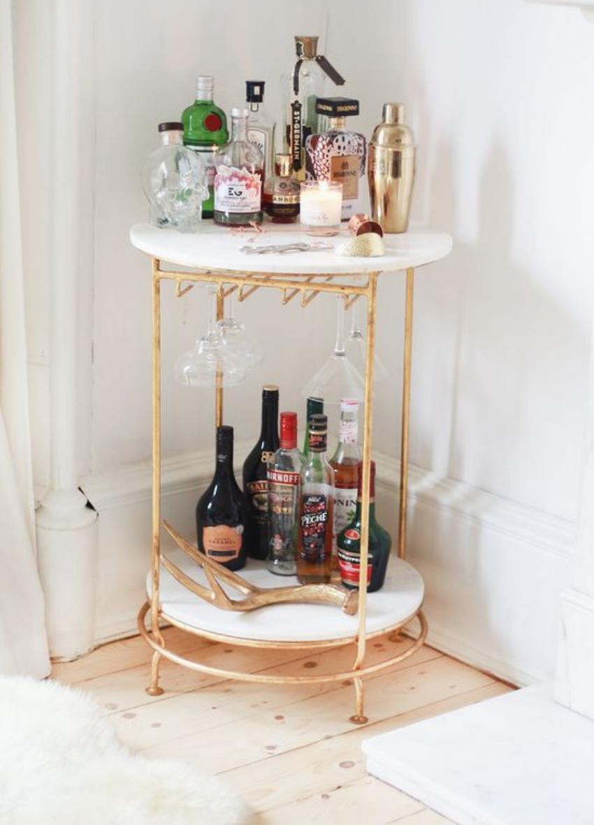 Bloglovin' Bar Cart Design