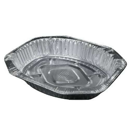 disposable foil roaster and broiler pans