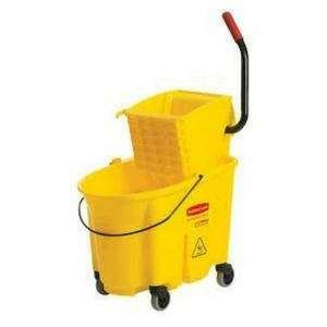 industrial mop buckets and cleaners