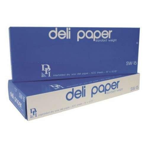 deli paper sheets