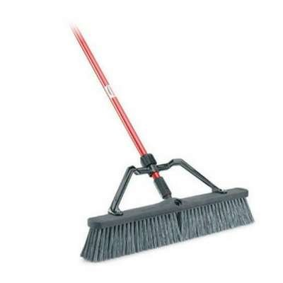 commercial grade brooms and dustpans