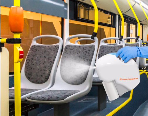 Go Clean Germbuster Bus Disinfecting