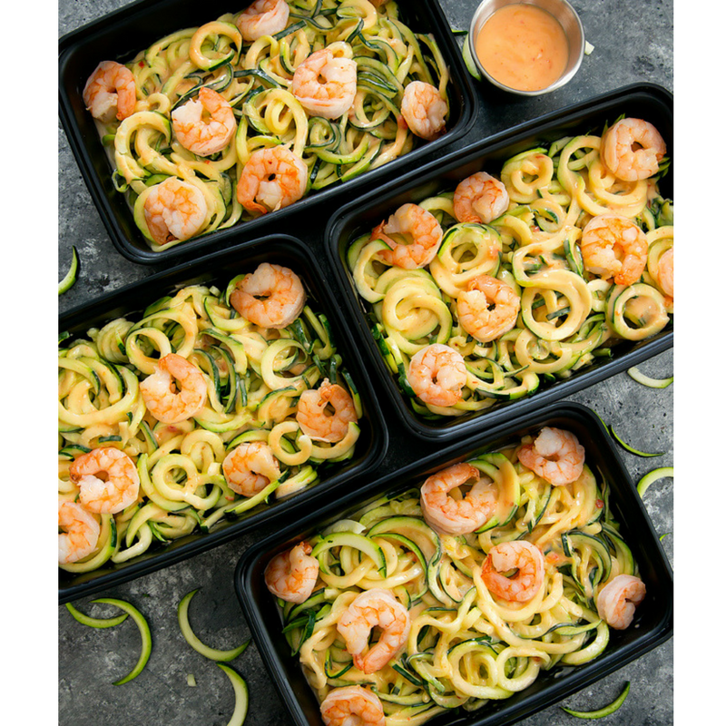 Bang Bang Zucchini Noodles Meal Prep Recipe