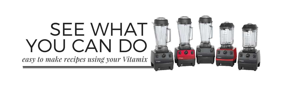 Easy recipes to make with your Vitamix blender. Great recipes for restaurants, bars and home.