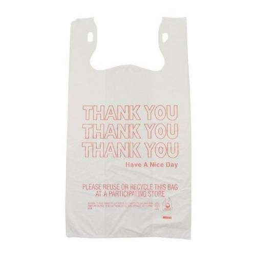 merchandise plastic shopping bags