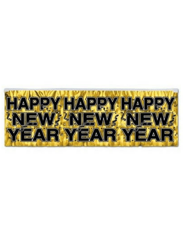 happy new year banners and wall decorations