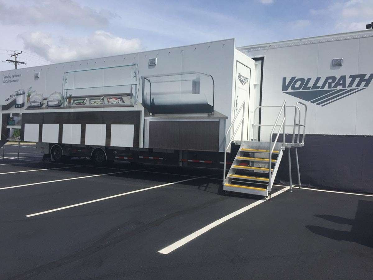 Vollrath Traveling Serving Systems Showroom Truck