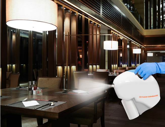 Go Clean Germbuster Restaurant Disinfecting