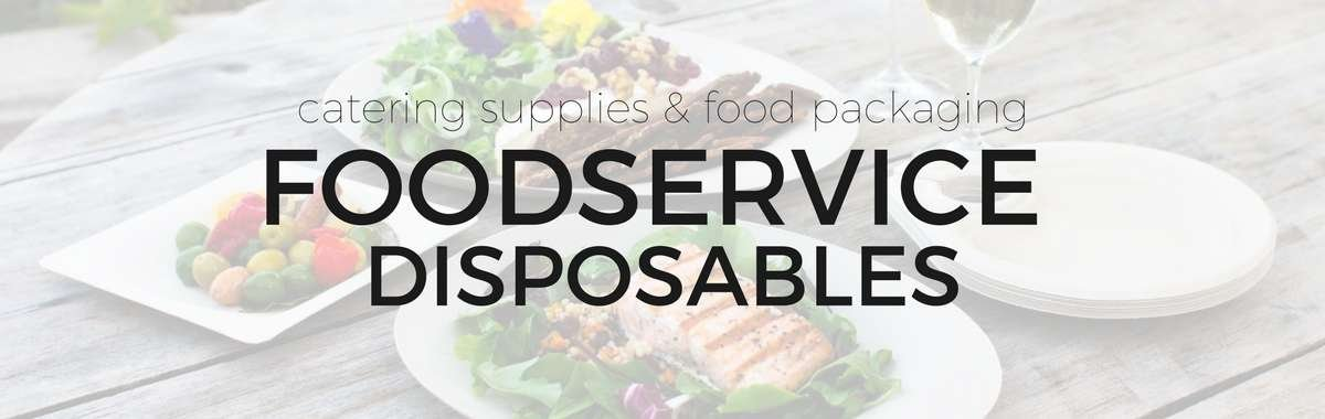 Shop foodservice disposables including catering supplies and food packaging supplies