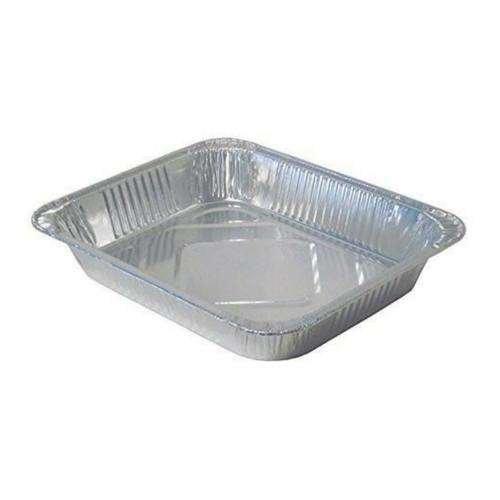 half size aluminum foil pans