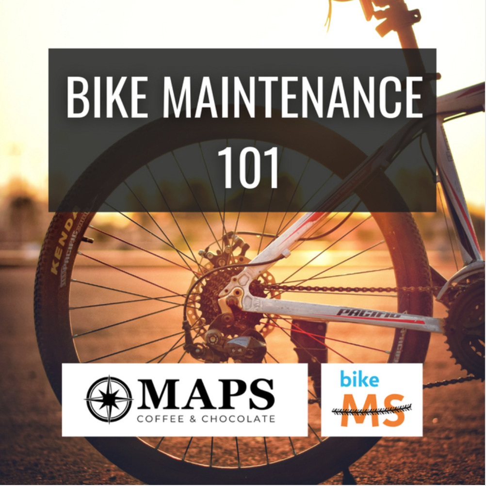 Bike Maintenance 101 at Maps Coffee Kansas City
