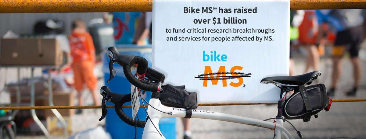 Bike MS Impact: over $1 billion raised