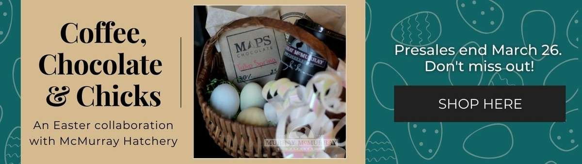 McMurray Hatchery easter collaboration