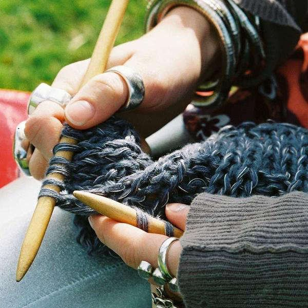 Learn To Knit Class at Mondaes Makerspace & Supply