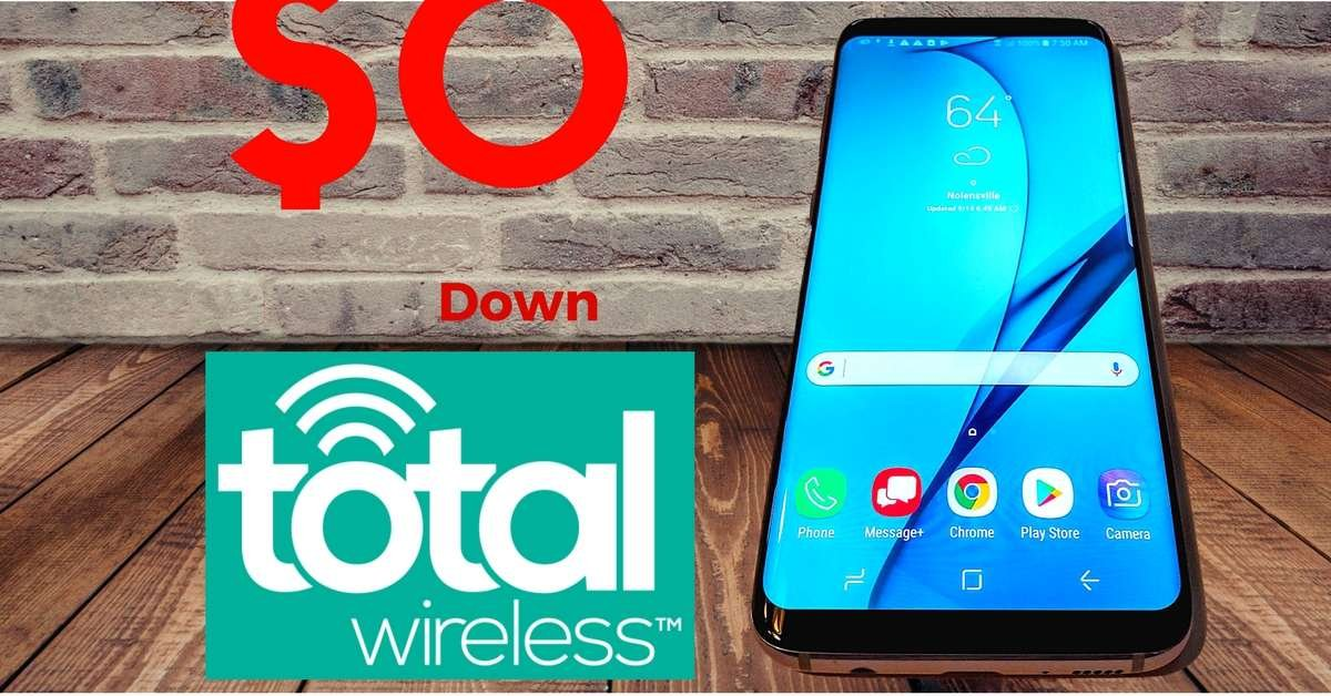 0 Down Phones for Total Wireless