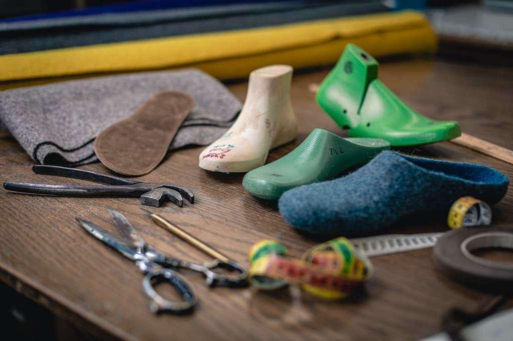 stegmann clogs handmade wool comfort
