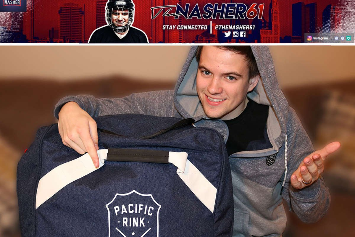Pacific Rink Hockey Bag & Apparel Review by the Nasher